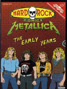 Hard Rock Comics, Metallica #1  Unauthorized and Proud of it!