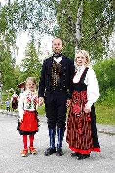Allmogebröllop i Järvsö