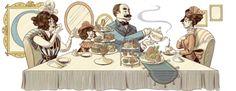 Doodleando, Los Logos de Google: 161 aniversario del nacimiento de Emma Gad