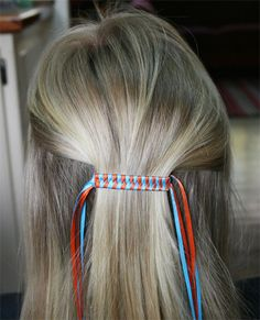 Photo tutorial provided showing how to put ribbon on both ends.