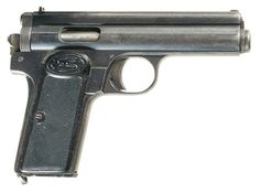 Manufacturer: Frommer Model: Stop Finish: Blued Construction: Carbon Steel Action: Single-action Operation: Long-recoil, semi-automatic Type: Pistol Caliber: .32 ACP (7.65×17mm) or .380 ACP (9×17mm) Capacity: 8+1 or 7+1 Year(s) Produced: 1912-1929 Quantity Produced: ?