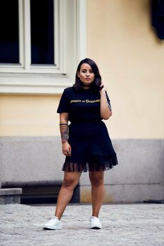 Last Day Of Summer, Street Style Blog, Shirt Dress, Skirts, Black, Dresses, Art, Fashion, Shirtdress