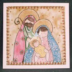 [c] Estampa Sagrada Familia