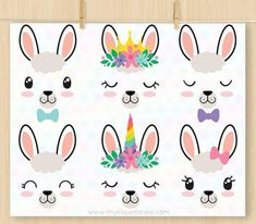 Llama Faces Alpaca Clipart Unicorn Emoji Llama Que Llama Birthday, Unicorn Birthday Parties, Baby Birthday, Alpacas, Llama Face, Diy And Crafts, Crafts For Kids, Baby Llama, Llama Gifts