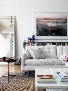 The Brooklyn loft of Sebastian Stubbe and Karis Durmer via Skona Hem. Photography by Ragnar Ómarsson.