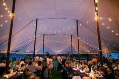 A beautiful tented wedding  | ©Liller Photo | Milwaukee Wedding Photographer