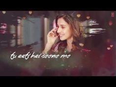 Kaun tujhe yu pyaar krega jaisa mai krta hu| love song | lyrical whatsapp status | viva video - YouTube