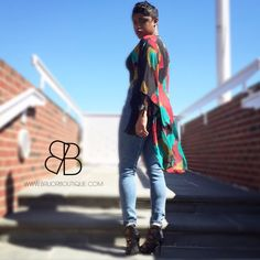 PRINT LEAF CARDI Price: $20.00 including domestic shipping www.BriJorBoutique.com