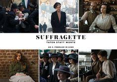 Suffragette Film 6er-Collage | SUFFRAGETTE - Der Film | Echte Postkarten online…