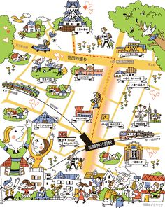 Town Drawing, Pictorial Maps, Map Painting, Map Design, Travel Maps, Cali, City Maps, Book Cover Design, Plans