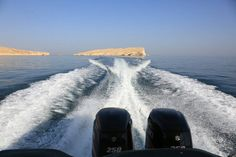 #motorboat #wake #island #sea #oman #scenery #scenic #engines #engine Wake Island, Motorboat, Niagara Falls, Engine, Scenery, Sea, Instagram Posts, Nature, Travel