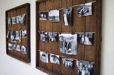 DIY Picture Frame | Kuzak's Closet - Professional Organizing & Estate Sales