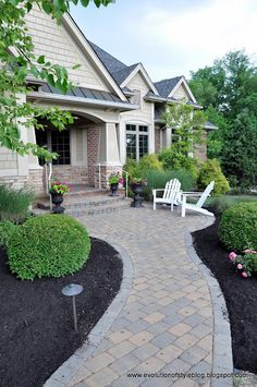 38 Best Front Patio Images Landscaping Back Garden Ideas