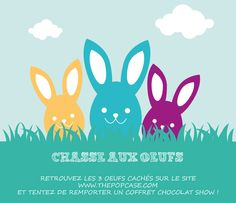 Chasse aux Oeufs - The PopCase 3 D, Avril, Egg Hunt, Pageants, Gaming