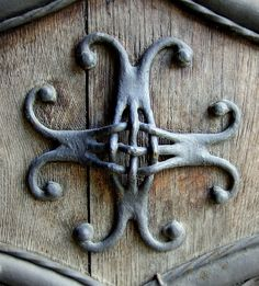 Iron Door Detail by Kotomi_