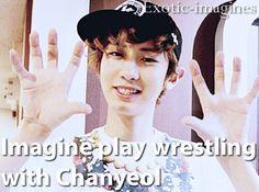 Chanyeol Exo Imagines, Cute Imagines, Park Chanyeol, Bucket, Kpop, Memes, Meme, Buckets, Aquarius