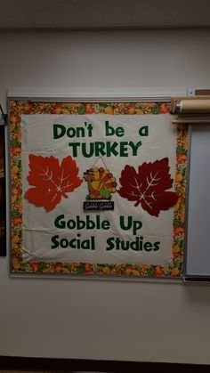 Fall or Thanksgiving Bulletin Board