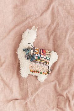 Furry Llama Pillow - This is too cute!