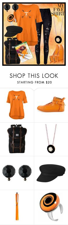 """""""Wanderer"""" by toddverbose ❤ liked on Polyvore featuring Royce, BUSCEMI, Steve Madden, Selim Mouzannar, Ralph Lauren, Giuliano Mazzuoli, Akuamarina and MyFaveTshirt"""