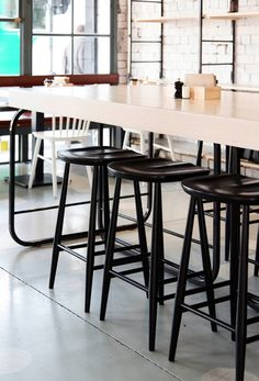 Furniture & Lighting in Melbourne - for your home, office, hotel or restaurant. Australian made & international design, including ercol, Terence Woodgate & Lyngard. Ercol Furniture, Private Club, Cafe Food, Hospitality Design, Cafe Bar, Cafe Design, Architecture, Restaurant Bar, Coffee Shop