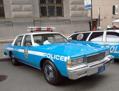 1990 Chevrolet Caprice NY City police car See more http://www.classiccarstodayonline.com