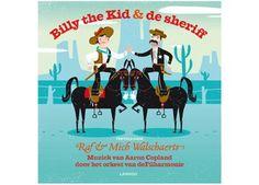 straf luisterverhaal 'Billy the kid en de sherrif' Lannoo | kinderen-shop Kleine Zebra