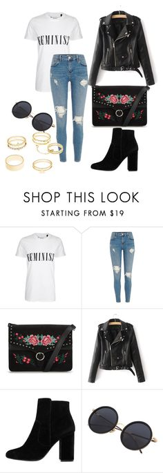 """""""Untitled #381"""" by dolrebeca ❤ liked on Polyvore featuring Tee and Cake, MANGO and Charlotte Russe"""