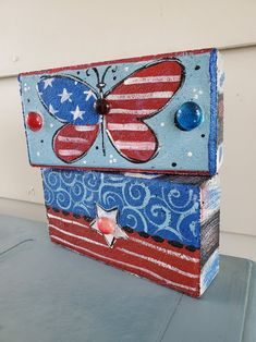 Painted Bricks Crafts, Brick Crafts, Painted Pavers, Painted Rocks, Hand Painted, Garden Pavers, Garden Stones, Brick Pavers, Concrete Blocks