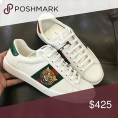 93dbf02ecd8395 Gucci Tiger Sneakers Brand new 2017 Brand New Sneakers Deadstock AUTHENTIC  Womens   Mens Sizes For Sale Dustbags . Tags And Original Boxes 📦 Included  any ...