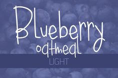 Blueberry Oatmeal Light by Brittney Murphy Design on Creative Market