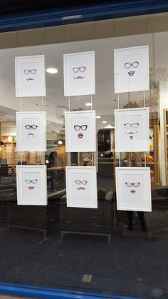 Optician window
