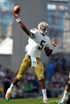 Besides a horrible throw that Everett Golson made in the red zone that was intercepted, the first-year starter had a solid outing. He did a terrific job of managing the game, completing 12 of 18 passes and throwing for 144 yards and a touchdown