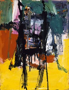"transistoradio: "" Franz Kline Untitled oil on paper, x 61 cm. Collection of Smithsonian American Art Museum, Washington, DC, USA. Franz Kline, Willem De Kooning, Action Painting, Painting Art, Painting Lessons, Henri Matisse, Modern Art, Contemporary Art, Jasper Johns"