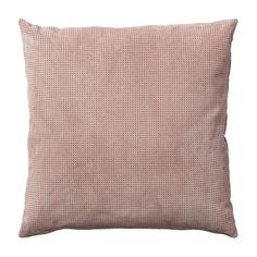 Perforated Suede Blush Pillow by AYTM