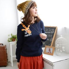 Buy '59 Seconds – Giraffe-Print Pullover' with Free International Shipping at YesStyle.com. Browse and shop for thousands of Asian fashion items from Hong Kong and more!