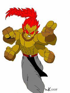 goro(mortal kombat)/akuma(street fighter)