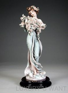 Pictures of Armani Porcelain | Giuseppe Armani 1764C Garden Scents Porcelain Limited Edition 5000 NEW