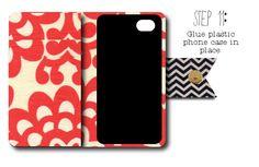 diy smart phone wallet sewing tutorial at my3monsters.com