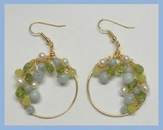 Spring Garden EarringFree Diy Jewelry Projects | Learn how to make jewelry - beads.us