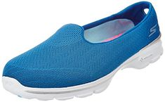 Women's Walking Shoes - Skechers Performance Womens Go Walk 3 Insight SlipOn Walking Shoe ** See this great product. (This is an Amazon affiliate link)