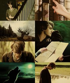 """ Marauders' Era Dreamcast. Andrew Garfield as Remus Lupin. """