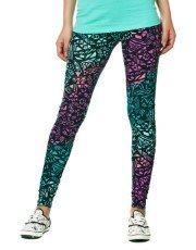 Terranovastyle.com - Long tribal print elasticated cotton leggings