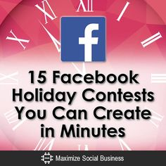 15 # Facebook Holiday Contests You Can Create in Minutes #Christmas #marketing