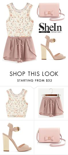 """SHEINSIDE SHORTS"" by tania-alves ❤ liked on Polyvore featuring Etro, Giuseppe Zanotti and Ted Baker"