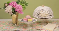 How to Make a DIY Doily Cake Dome
