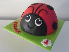 Lieveheersbeestje taart