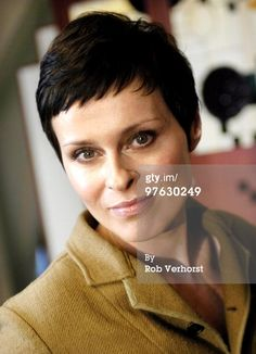 Lisa Stansfield poses for a portrait on February 21st 2005 in Amsterdam, Netherlands. (Photo by Rob Verhorst/Redferns)