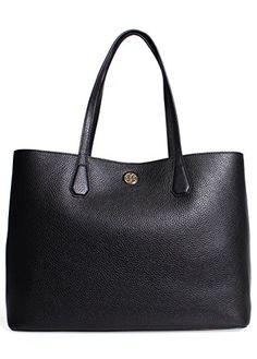 Tory Burch Perry Tote Handbag in Black