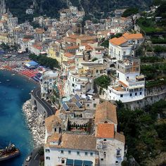 Amalfi- Divine Coast - Gulf of Salerno by Goldenpixel, via Flickr