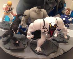 "Derrico13 (Deviantart) ""616 Nick Fury, Anti-Venom, Origins Hulk, Symbiote, Immortal Iron Fist"""